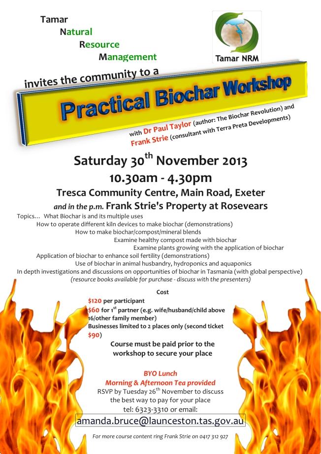 biochar workshop